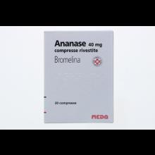 Ananase 20 Compresse rivestite 40mg Altri disturbi