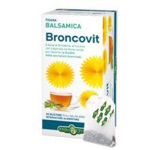 BRONCOVIT TISANA BALSAMICA 20 BUSTINE DA 2G Prodotti per gola, bocca e labbra