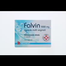 Falvin 2 Capsule vaginali 1000mg Capsule e ovuli