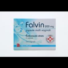Falvin 6 Capsule vaginali 200mg Capsule e ovuli