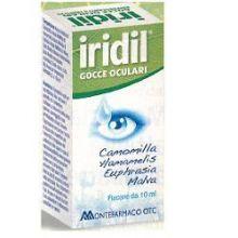 IRIDIL GOCCE OCULARI 10ML Prodotti per occhi