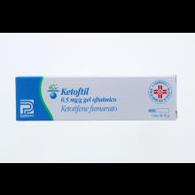 Ketoftil Gel oftalmico 0,5mg/g 10g Decongestionanti