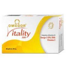 OMEGOR VITALITY 60 PERLE Colesterolo e circolazione