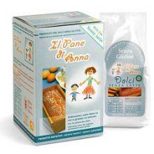 PANE ANNA DOLCI S/LATTE 250G Farine senza glutine