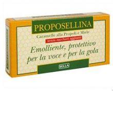 PROPOSELLINA MIELE/PROPOLI 20G Prodotti per gola, bocca e labbra