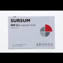 SURSUM*30CPS MOLLI 400UI Tonici, vitaminici e sali minerali
