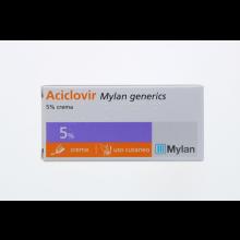 Aciclovir Mylan* Crema 3G 5% Pomate, cerotti, garze e spray dermatologici