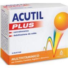 Acutil Multivitaminico Plus 20 Bustine Multivitaminici