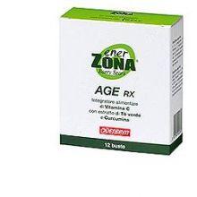 ENERZONA AGE RX 12 BUSTINE DA 4G Alimenti sostitutivi