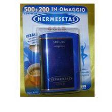 HERMESETAS GOLD 500+200 COMPRESSE Dolcificanti, sale e brodo