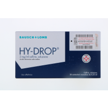 Hydrop Collirio 0,2% 20 Flaconcini 0,25ml Colliri e Pomate Oftalmiche Idratanti