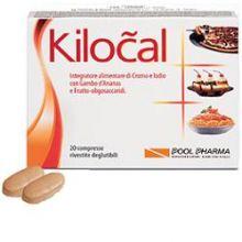 Kilocal 20 Compresse Controllo del peso