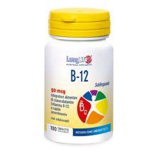 LONGLIFE B12 50MCG SUBL 100TAV Vitamina B