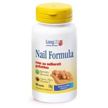 LONGLIFE NAIL FORMULA 60TAV Integratori per capelli e unghie