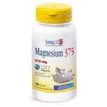 LongLife Magnesium 375 100 Tavolette Magnesio e zinco