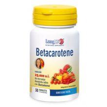 Longlife Betacarotene 30 Compresse Integratori per la Pelle