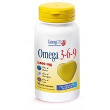 Longlife Omega 3-6-9 50 Perle Omega 3, 6 e 9