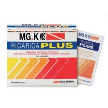 Mgk Vis Ricarica Plus 14 Bustine Da 6g Integratori Sali Minerali