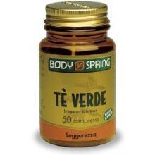 Body Spring Tè Verde 50 Compresse Drenanti