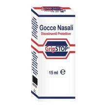 GRIP STOP GOCCE NASALI 15ML Flaconcini, gocce, pomate e spray per il nasino