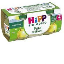HIPP BIO OMOGENEIZZATO DI PERA WILLIAMS 2 X 80G  Omogeneizzati di frutta