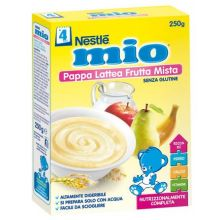 MIO PAPPA LATTEA FRUTTA MISTA Farine lattee