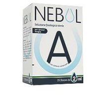 NEBUL SOL FISIOL 25FL 2ML Flaconcini, gocce, pomate e spray per il nasino