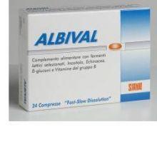 ALBIVAL PROBIOTICO 24 COMPRESSE Digestivi e Depurativi