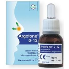 ARGOTONE 0-12 SOLUZIONE NASALE 20ML Flaconcini, gocce, pomate e spray per il nasino