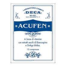 Acufen 15 compresse Colesterolo e circolazione
