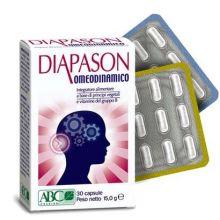 DIAPASON OMEODINAMICO 30 CAPSULE Tonici e per la memoria
