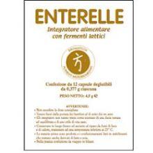 ENTERELLE 12 CAPSULE DA 377MG Fermenti lattici e digestione