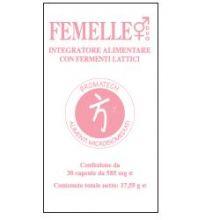 FEMELLE DUO 30 CAPSULE DA 585MG Fermenti lattici e digestione