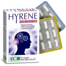 HYRENE OMEODINAMICO 30 CAPSULE Tonici e per la memoria