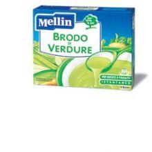 MELLIN BRODO VERD 10BUST 8G Brodo, passati di verdure e minestrine per bambini