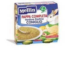 MELLIN PAPPA COMPL CONIG2X250G Brodo, passati di verdure e minestrine per bambini