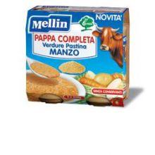 MELLIN PAPPA COMPL MANZO2X250G Brodo, passati di verdure e minestrine per bambini