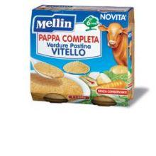 MELLIN PAPPA COMPL VTL 2X250G Brodo, passati di verdure e minestrine per bambini