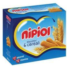 NIPIOL BISCOTTINI 6 CRL 800G Biscotti per bambini