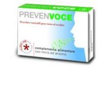 PREVENVOCE MENTA EUCAL 30TAV Prodotti per gola, bocca e labbra