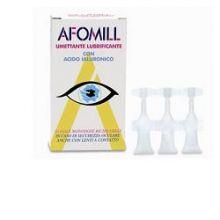 AFOMILL UMETTANTE LUBRIFICANTE 10 FIALE Prodotti per occhi