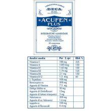 Acufen Plus 30 Compresse Colesterolo e circolazione