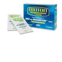 BIOTON MAGNESIUM FORTE 12 BUSTINE Magnesio e zinco