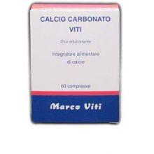 CALCIO CARBONATO MARCO VITI 60 COMPRESSE Prodotti per intestino e stomaco