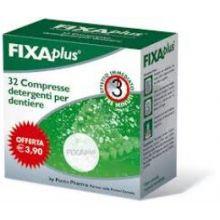 FIXAPLUS 32 COMPRESSE DETERGENTI PER DENTIERE Prodotti per dentiere e protesi dentarie