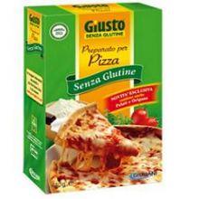 GIUSTO SENZA GLUTINE PREPARATO PER PIZZA 440G Farine senza glutine