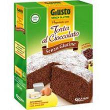 GIUSTO SENZA GLUTINE PREPARATO PER TORTA AL CIOCCOLATO 400G Farine senza glutine