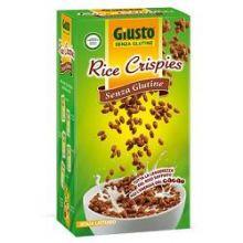 GIUSTO SENZA GLUTINE RICE CRISPIES RISO SOFFIATO AL CACAO 250G Dolci senza glutine