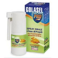 GOLASEL PRO SPRAY ORALE ADULTI 20ML Propoli
