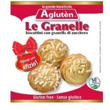 AGLUTEN LE GRANELLE BISCOTTI 100G Dolci senza glutine